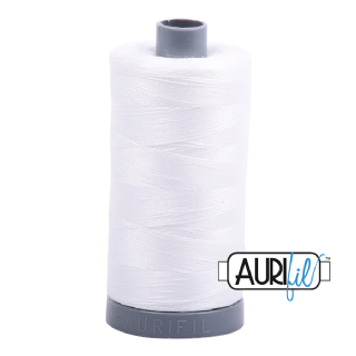 Aurifil 28 Cotton Thread - 2021 (Off White)